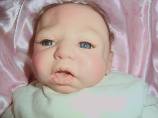 Shelia Michael Reborn Baby Girl Doll 2004 Soft Vinyl Looks Real 141 So