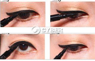 New Smooth Waterproof Liquid Eye Liner Beauty Make Up Black Eyeliner