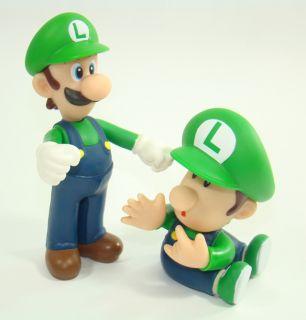 Super Mario Brother Figures Luigi Peach Baby Figurine
