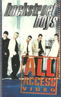 Backstreet Boys Los Angeles Video Shoot VHS w Personal Interviews RARE
