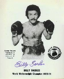 Boxing DVD Billy Backus Career Collection