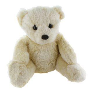Aurora Naturally Eco Friendly 9 Ivory Teddy Bear Stuffed Animal Toy