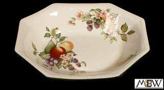 New English Johnson Brothers Open Vegetable Dish Plate