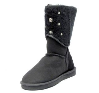 350 Australia Luxe Flinders Sheepskin Suede Shearling Boot Mens US 12