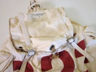 Ralph Lauren Rugby Sailcloth Large Canvas Backpack Bag