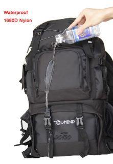40L DSLR SLR Large Capacity Camera Backpack Bag Fit 17 Laptop Canon