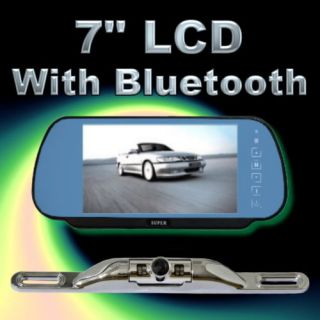 Rearview Mirror Bluetooth Car Backup Camera System