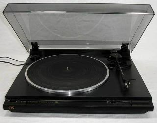 JVC AL A151 Auto Return Stereo Turntable Belt Drive