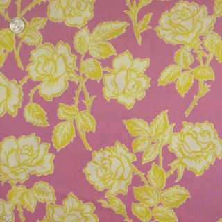 Heather Bailey Pop Garden Wallpaper Rose Quilt Fabric 1