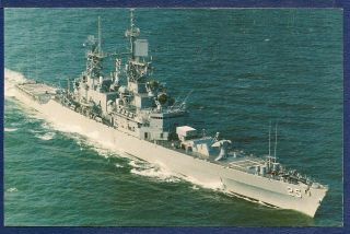 USS Bainbridge CGN 25 Nuclear Powered Guided Missile Cruiser