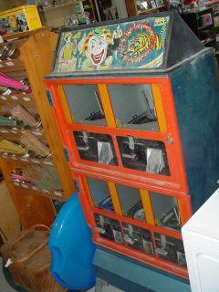 Vintage Plastic Toys Vending Machine Official Miniature