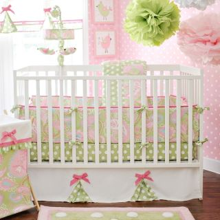 New My Baby Sam Pixie Baby Bedding in Pink Baby Girl Bedding 10 Piece