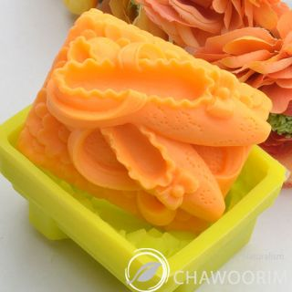 Ballerina Flats Silicone Molds Soap Molds for Handmade Soap Making