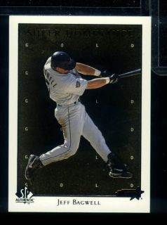 IW 1998 SP Authentic Jeff Bagwell Sheer Dominance