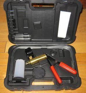 Brake Bleeder Vacuum Pump Kit Automotive Tools