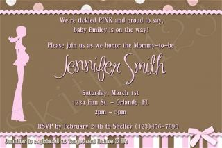 Custom Baby Shower Boy / Girl Personalized Invitations