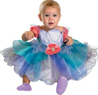 Disney Princess Ariel Halloween Costume   Infant Size 12   18 Months
