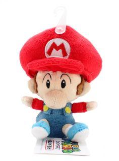Nintendo Super Mario 5 quot Plush Sanei Doll Baby Mario