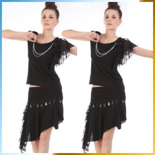C67040 Womens Ladies Latin Ballroom Dance Dress Salsa Dresses Evening