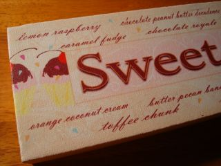 Sweet Talker Cupcake Bakery Cafe Coffee Shop Kitchen Cake Baker Decor