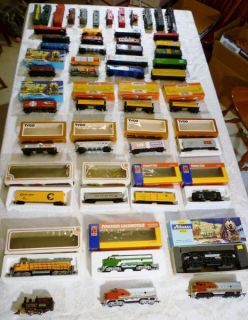 Lot Vintage HO 49 Model Trains Engines Bachmann Tyco Athearn Mantua