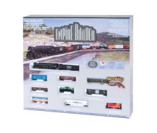 Bachmann Trains Empire Builder Santa Fe N Gauge Steam Locomotive