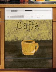 Appliance Art Coffee Mug Magnetic Dishwasher Cover SM