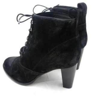 JCrew $275 Bandelier High Heel Ankle Boots 9 Black