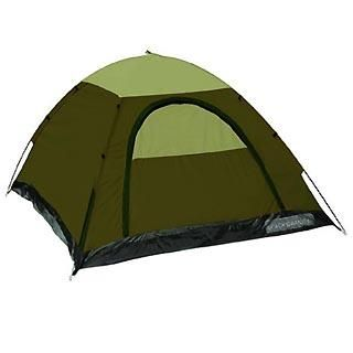 Buddy 2 Person Forest Tan 3 Season Camping Backpacking Tent