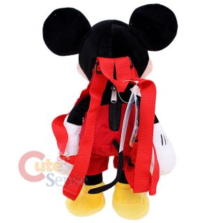 Disney Mickey Mouse Plush Dill Backpack Bag 2