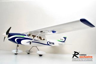 4ch rc electric 41 ep cessna 182 arf balsa airplane