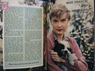 TV Guide ANNE FRANCIS BARBARA BILLINGSLEY JAMES ARNESS PAUL DOUGLAS