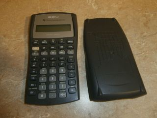 Texas Instruments BA II Plus Pro Scientific Calculator with manual
