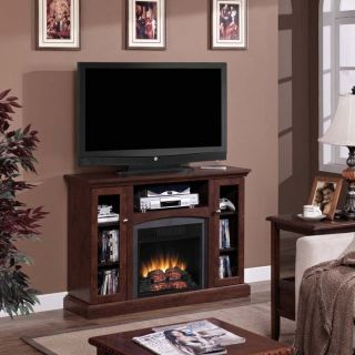Bancroft 18 Dual Entertainment Mantel and Electric Fireplace Insert