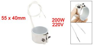 220V 200W 55 x 40mm Heating Element Band Heater for Plastic Injection