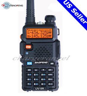BAOFENG Dual Band UV 5R VHF UHF Dual Band Radio FM 65 108MHz New Free