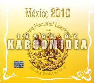 MEXICO 2010 Himno Nacional Mexicano CD NEW SEALED