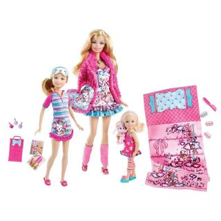 NEW Barbie Sisters Slumber Party Set 3 Doll Gift Set  Barbie, Stacie