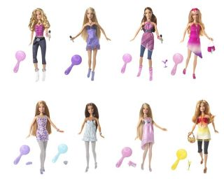 424 0333 and ask 2010 set of 7 fashionistas barbie and ken dolls nrfb