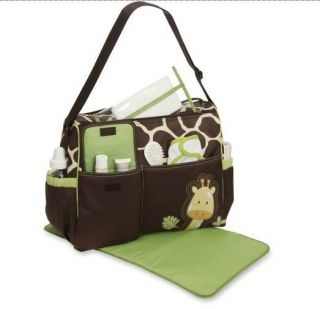 Baby Boom Giraffe Diaper Bag Compartments Spacious Unisex Travelling