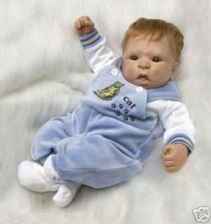 Paradise Galleries Josh Baby Boy Doll 19 Poor Box Look at Real Pics