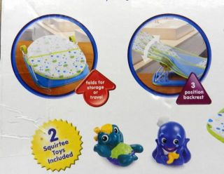 Disney Baby Einstein Baby Bather Includes 2 Squirtee Toys Ages 0+