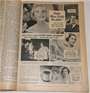 1938 True Confessions Magazine Barbara Hutton and Dime Store Girl Oct