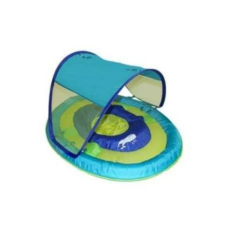 Swimways Baby Infant Toddler Spring Float Sun Canopy Pool Fun Floats