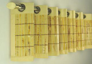 Bamboo window valance 72 wide x 12 long for 12 x 72 window