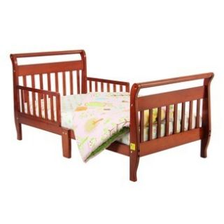 Dream On Me Sleigh Toddler Bed Cherry