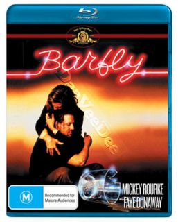 Barfly NEW Arthouse Blu Ray DVD Barbet Schroeder Mickey Rourke Faye