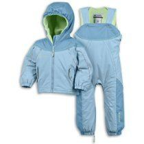 113 Columbia Santa Peak Baby Infant Ski Snow Jacket Overall Snowsuit