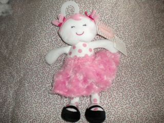 Baby Starters Snuggle Buddy Pink Sugar and Spice Security Blanket Doll