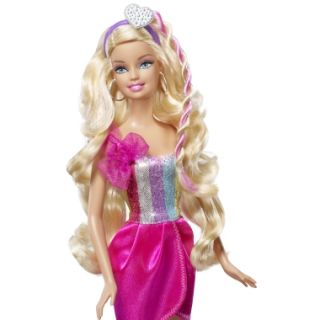 BARBIE  Barbie Hairtastic Cut & Style BLONDE Doll  MATTEL